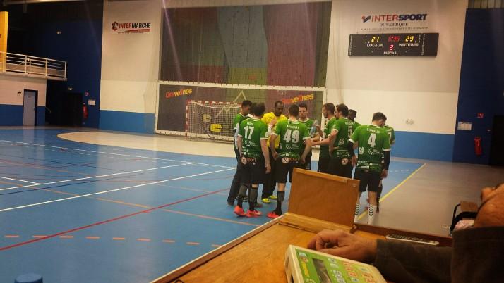 Championnat de France N2: US Gravelines 24 – 32 ASSOA Handball