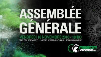 INVITATION A L'ASSEMBLÉE GÉNÉRALE ORDINAIRE
