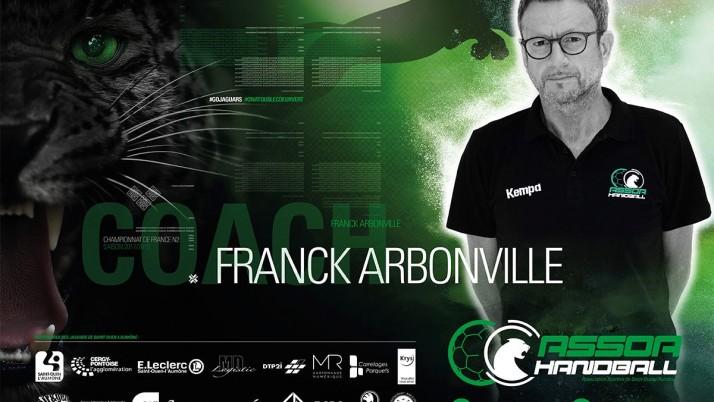 À LA RENCONTRE DE… Franck Arbonville, coach de notre équipe Nationale 2