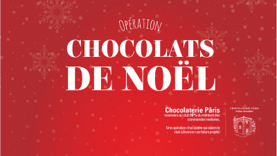 OPERATION CHOCOLATS DE NOEL