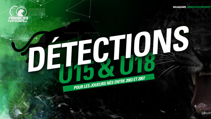 Détections U15 & U18